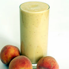 Healthy Peach Protein Power Smoothie