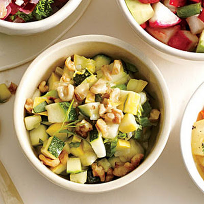 Summer Squash and Zucchini Salsa