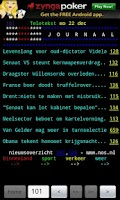 Screenshot of Dutch TeleTEXT (teletekst)