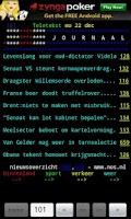 Screenshot of Dutch TeleTEXT (teletekst)