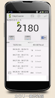 Screenshot of StepCounter Pedometer