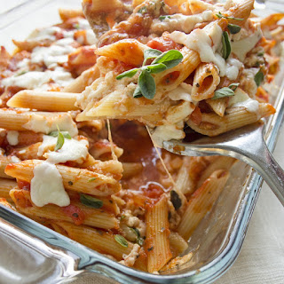 Baked Penne Pasta With Cottage Cheese Recipes