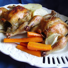 Baked Cornish Game Hens