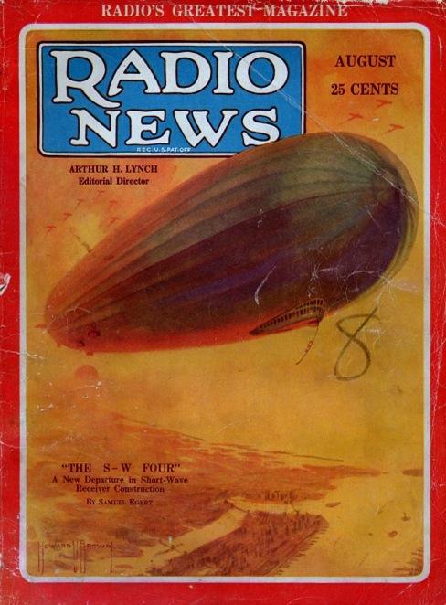 Radio News August 1929-2