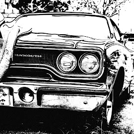 American Muscle  by David Bennett - Digital Art Things