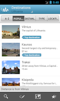 Screenshot of Lithuania Guide by Triposo