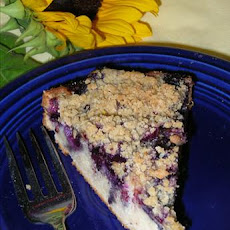 3rd Generation Blueberry Streusel Cake