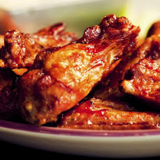 Broiled Barbecued Chicken Wings
