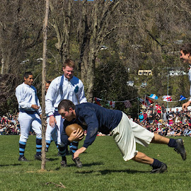 It's a try by Vibeke Friis - Sports & Fitness Rugby ( costumes, men, recreation, rugby,  )