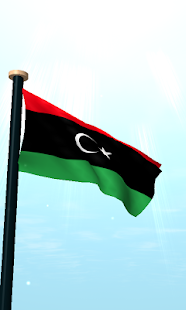 Libya Flag 3D Live Wallpaper - screenshot