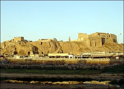 Kirkuk Castle, a symbol of Kurdish history