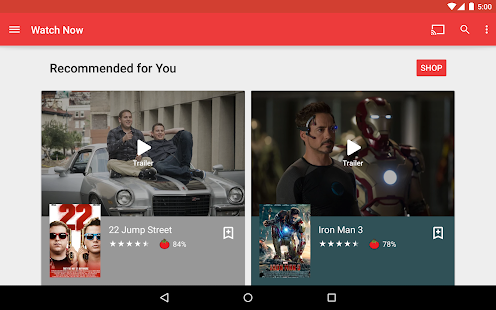 Download Full Google Play Movies & TV  APK