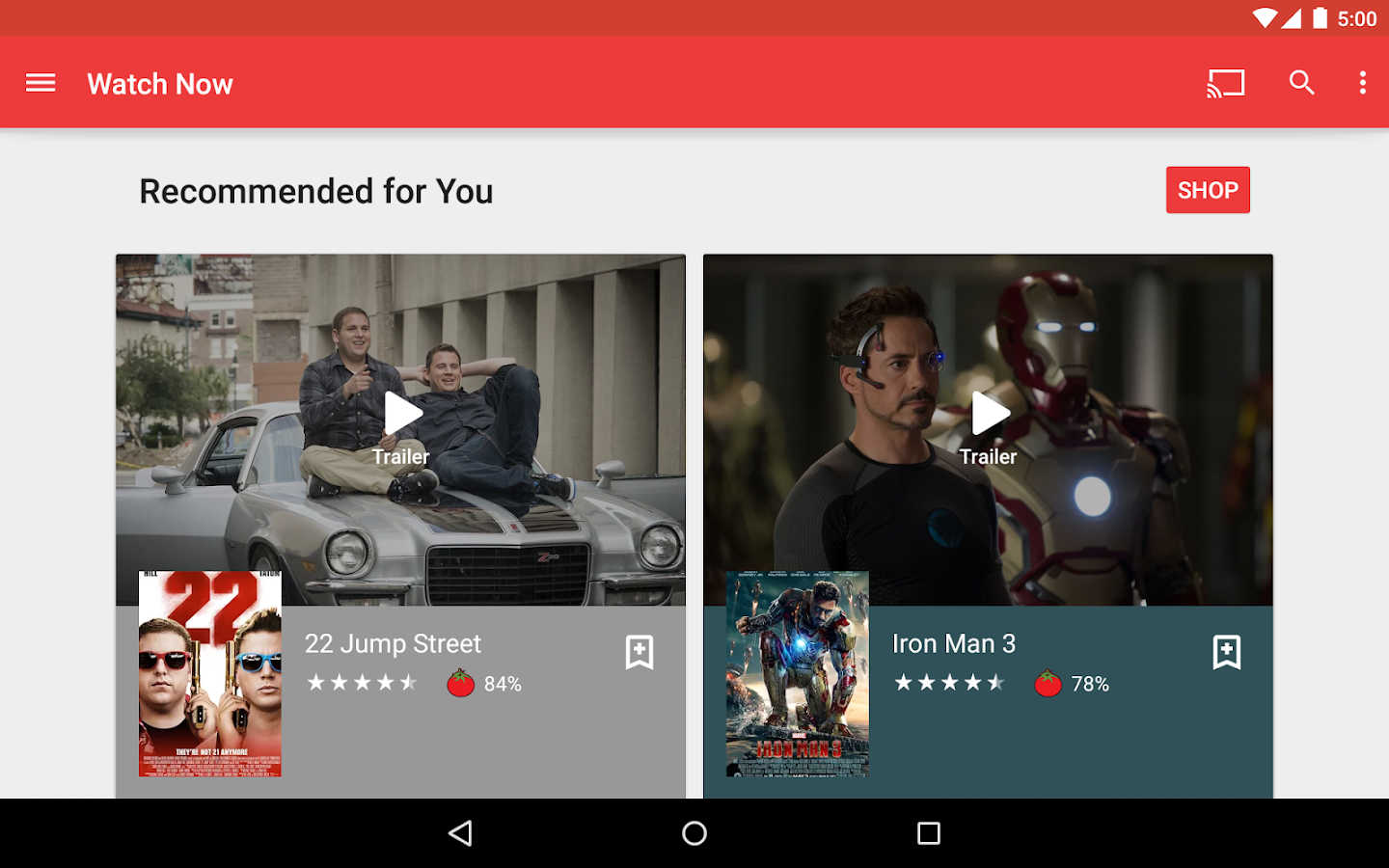 Google Play Movies & TV Screenshot 11