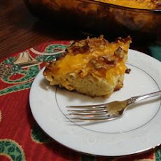 Holiday Apricot Kugel