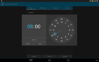 Screenshot of Alarm clock PRO