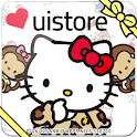 Ninamew×HELLO KITTY LWallpaper icon