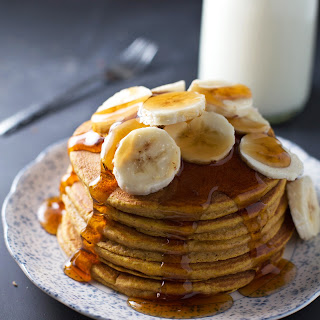 Best Ever Whole Wheat Pumpkin Pancakes