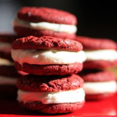 Dawn's Easy Red Velvet Sandwich Cookies