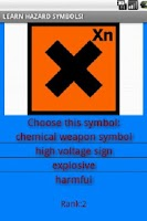 Screenshot of Hazard symbols adv
