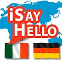 iSayHello Italian - German icon