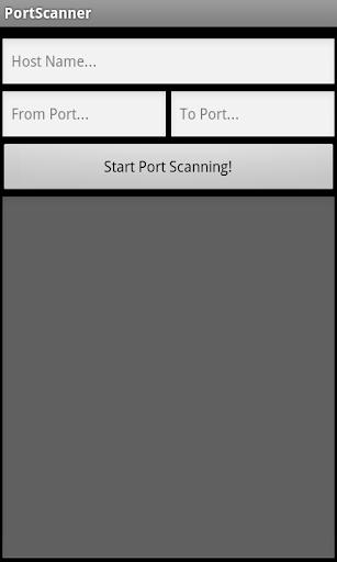 PortScanner