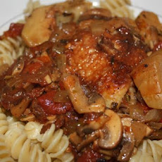 Chicken and Artichoke Cacciatore