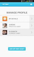 Screenshot of Mediclinic Baby - Baby