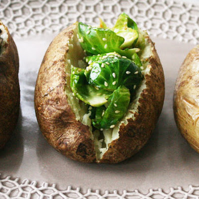 Grown-Up Baked Potatoes