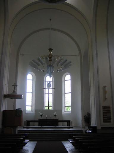 l'église de Suomenlinna