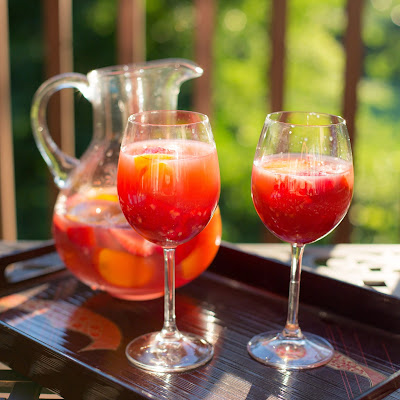 Rosé Sangria with Summer Fruit