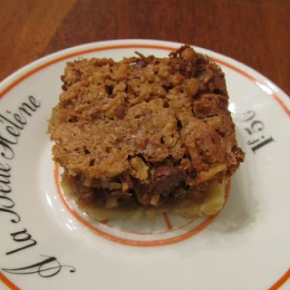 Chocolate Chip Coconut Pecan Bars Recipes