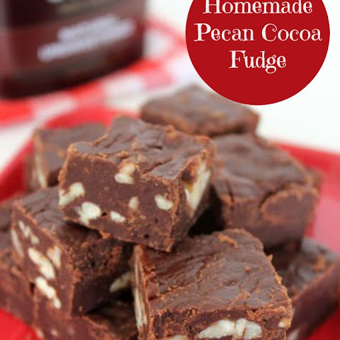 Homemade Pecan Cocoa Fudge