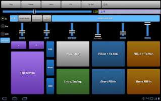Screenshot of Drummer Friend - Drum Machine