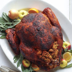 Citrus-Rubbed Turkey with Cider Gravy