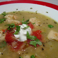 Snowy Day White Chili