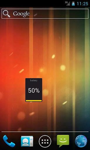 Oxy Battery Widget