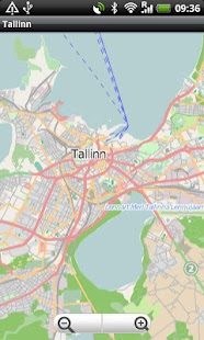 Tallinn Street Map - screenshot