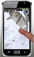 Screenshot of Snow Leopard Mountains LWP
