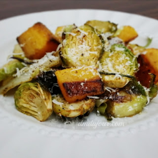 Roasted Brussel Sprouts & Winter Squash