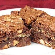 Peanut Butter Brownies I