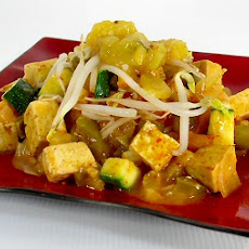 Thai Red Curry with Mango Chutney