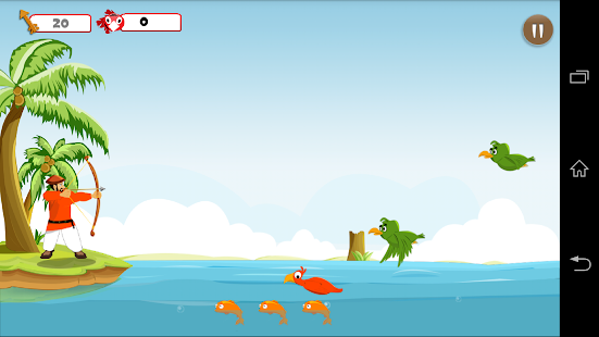 Birds Hunter Beach Archer - screenshot