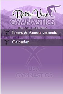 Baldy View Gymnastics - screenshot