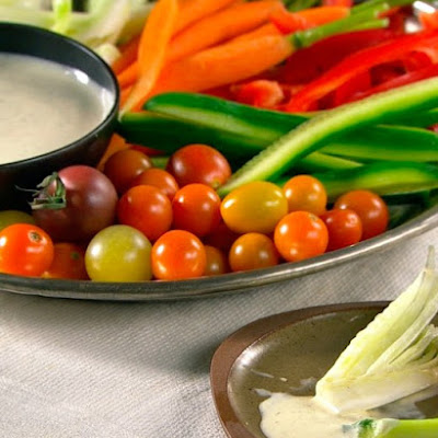 Crudites with Italian Vinaigrette
