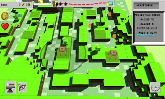 Screenshot of Tower Defense: Cubic world