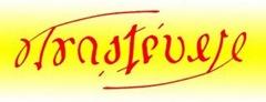 Ambigrama Trastévere