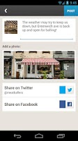 Screenshot of Foursquare for Business