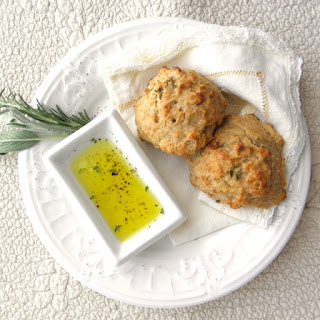 Olive Oil and Herb Drop Biscuits