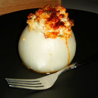 Peter's Baked Stuffed Onions