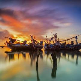 The 4 Team by Bayu Adnyana - Transportation Boats ( bali, tuban, transport, transportation, boat )
